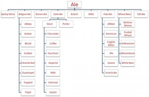 Drinking Beer - Ale Chart